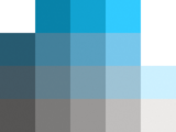 color chart cyan easy 2 color puzzle