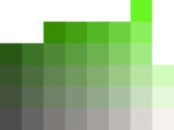 color chart green medium 2 color puzzle
