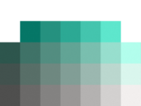 color chart teal easy 1 color puzzle