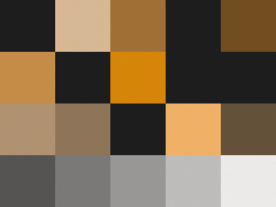 Color Chart First Row Ordered